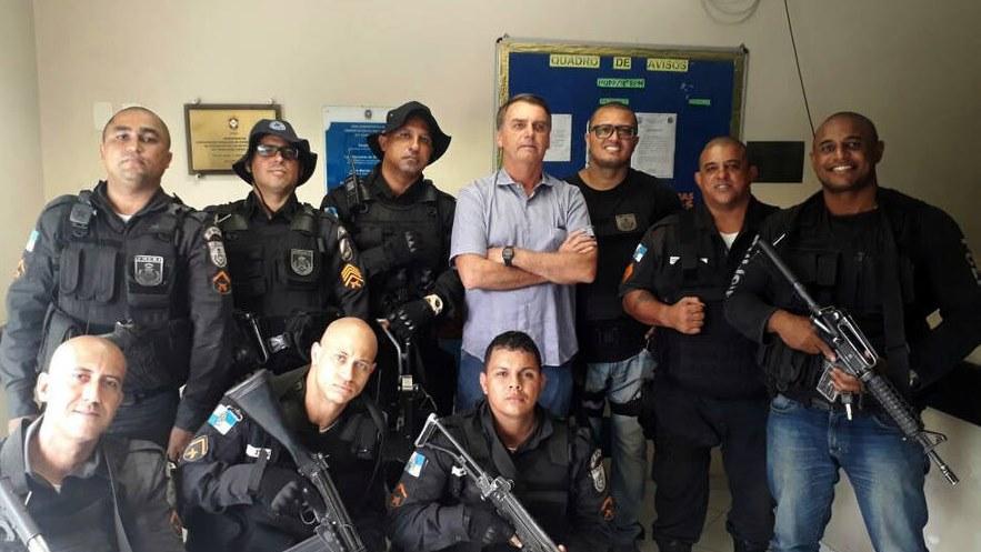 Bolsonaro y su peligrosa ley GLO que exime de responsabilidad a policías y militares
