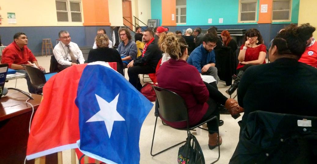 Chilenos organizan Cabildo comunitario en EE.UU. para abordar situación del país