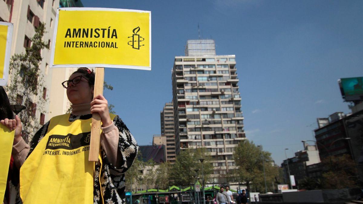Amnistía Internacional ofrecerá este jueves informe sobre violación de derechos humanos en Chile