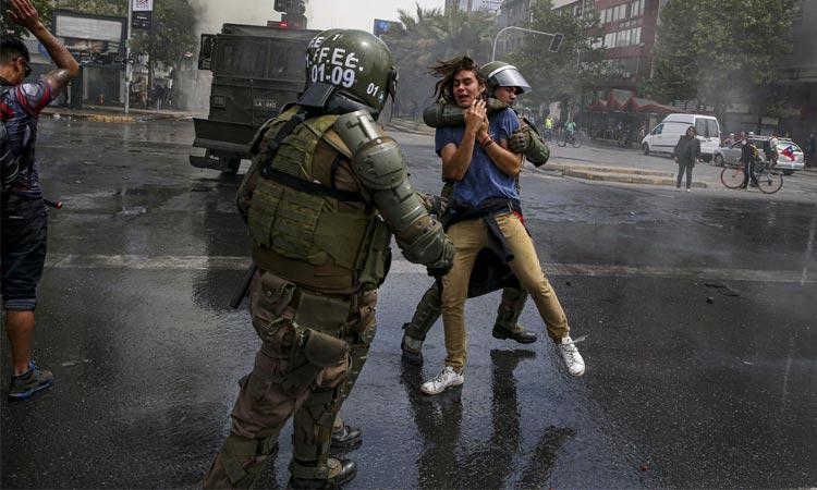 Human Rights Watch: Evidencia sólida de uso excesivo de la fuerza contra manifestantes y transeúntes