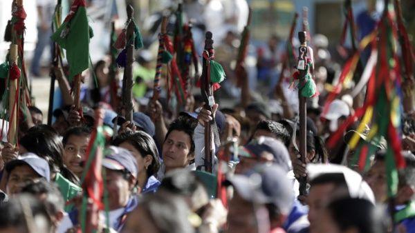 Colombia: alertan sobre desplazamiento masivo de indígenas y campesinos