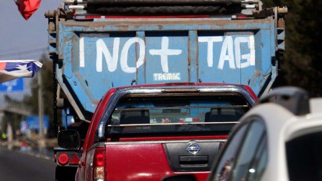 Protesta por tarifas planas: NO + TAG