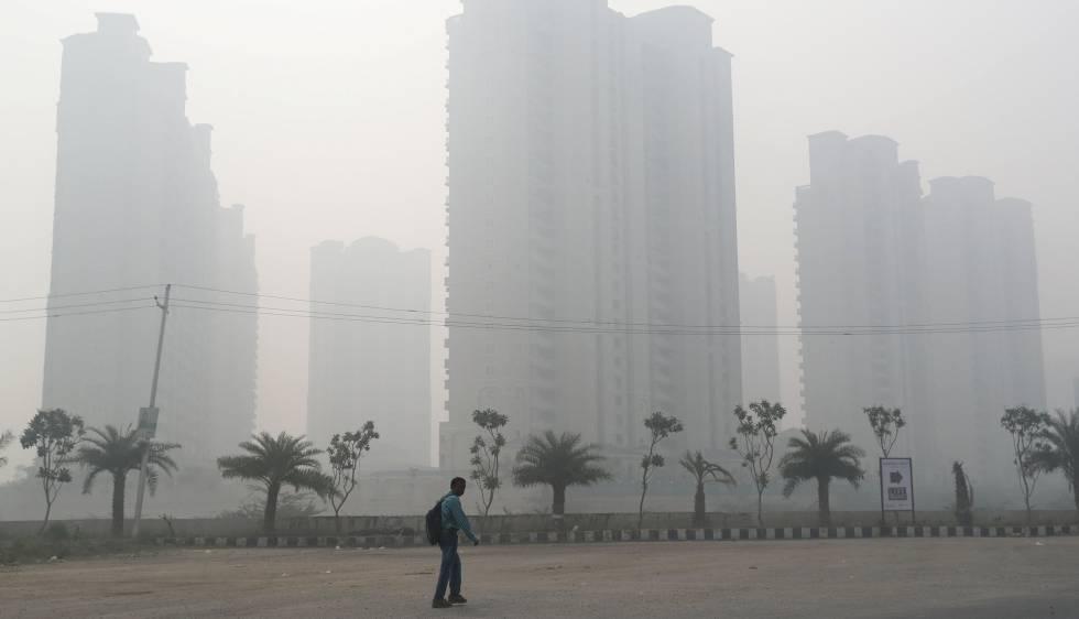 Nueva Deli declaró emergencia de salud pública por la alta contaminación atmosférica