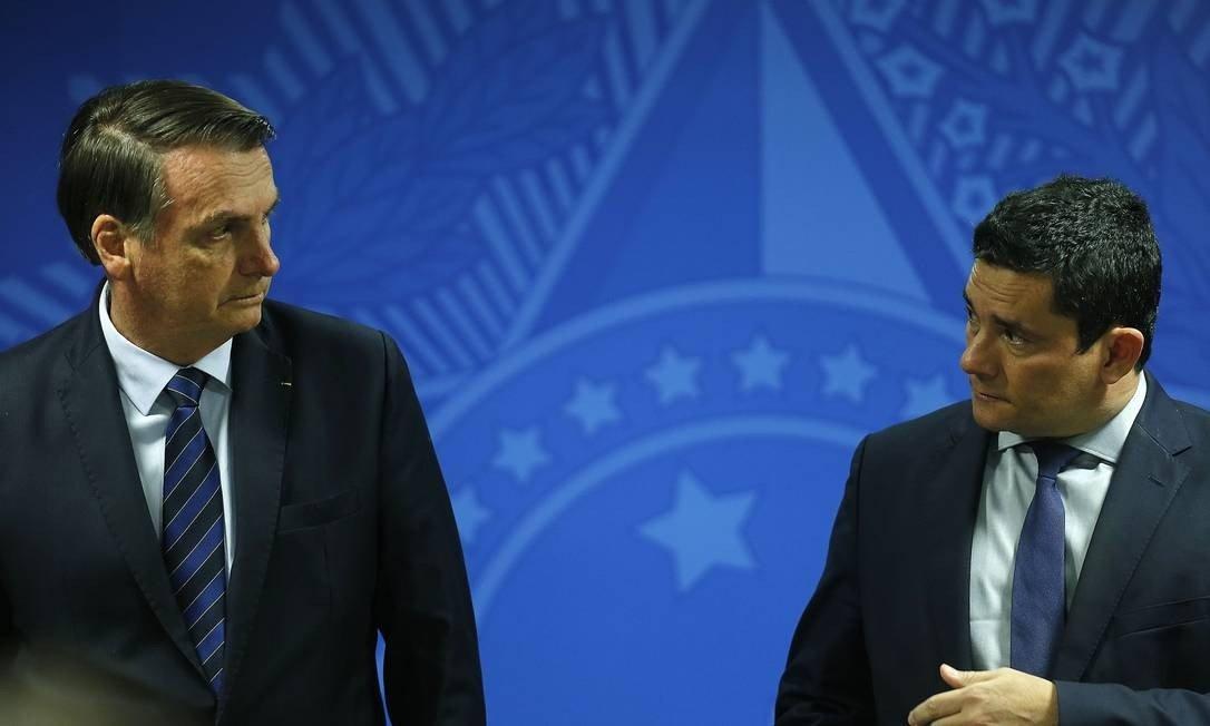 Le paquet «anti-crime» qui a mis en lumière les différences entre Bolsonaro et Sergio Moro