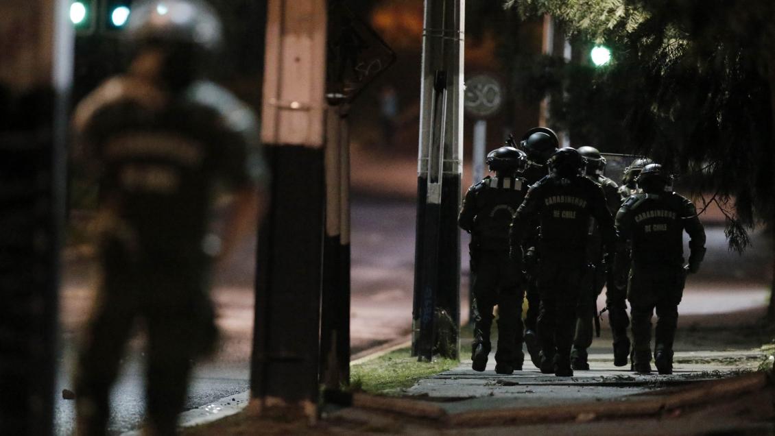 Valdivia: Represión dejó heridos con perdigones en piernas y adulto con impacto de lacrimógena en la cabeza
