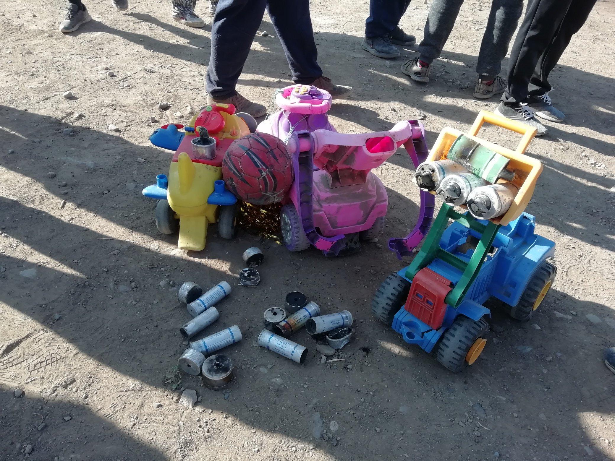 Carabineros realizó violento desalojo de campamento Macarena Valdés en Cerro Navia