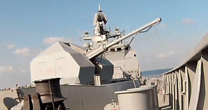 Rusia y Siria desarrollan ejercicios militares conjuntos en el Mediterráneo