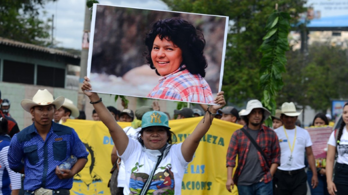 Organización indígena denuncia que los asesinos de Berta Cáceres siguen impunes