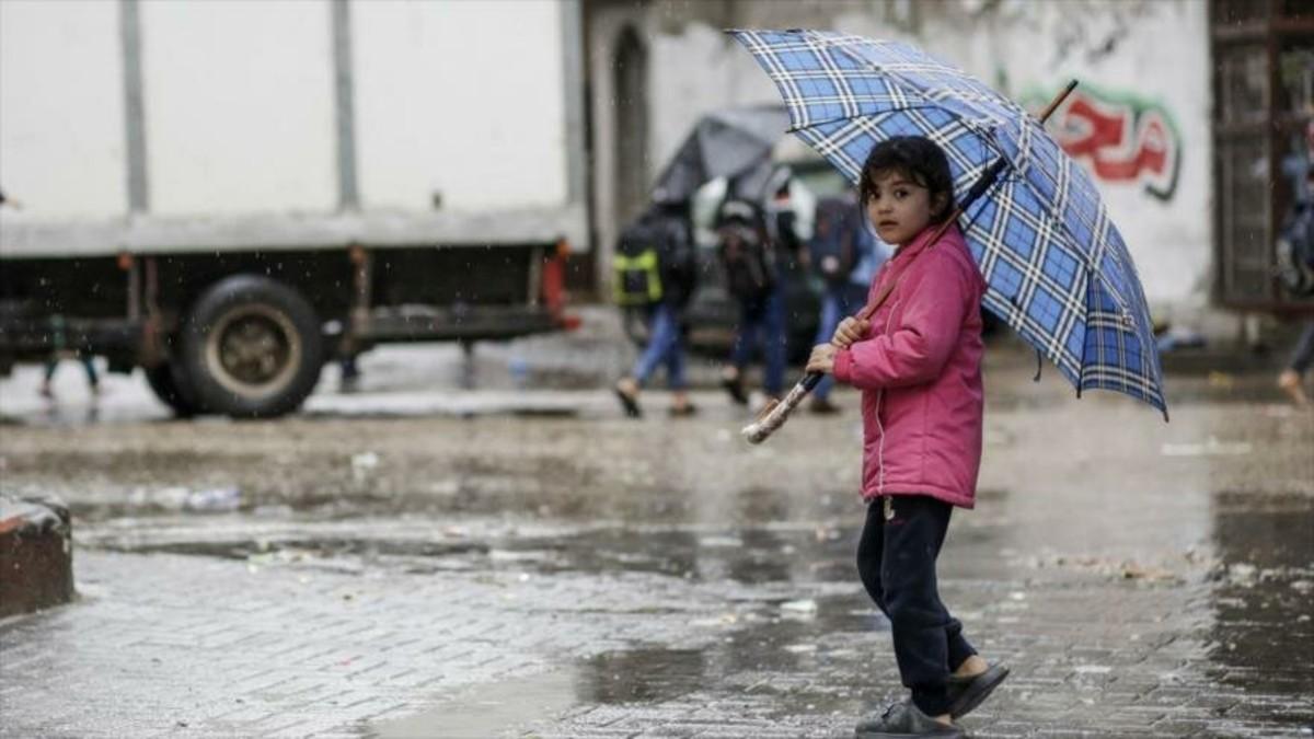 Bloqueo israelí en Gaza se siente aún más cuando llueve
