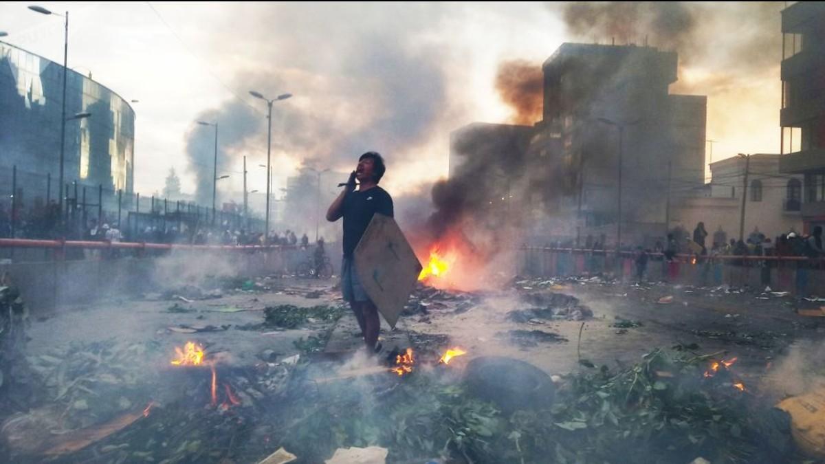 Movimiento indígena ecuatoriano funda asociación de víctimas de las protestas