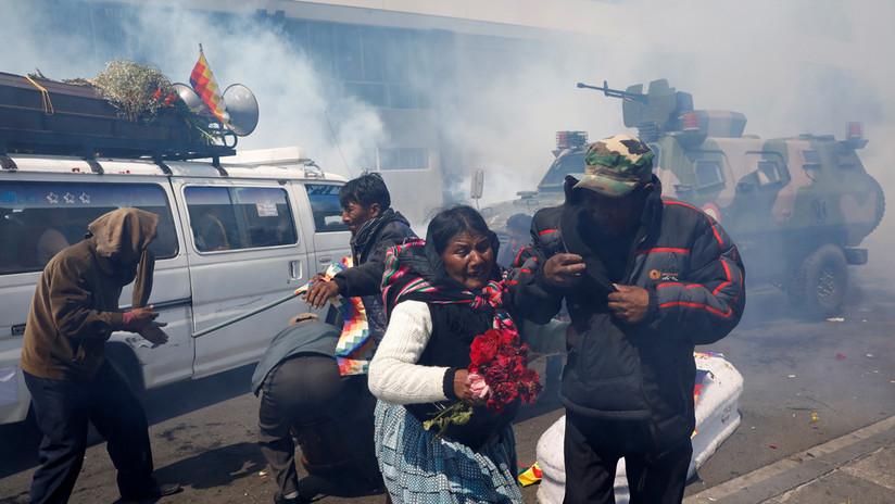 Delegación argentina denuncia violaciones de DD.HH. tras golpe de Estado en Bolivia