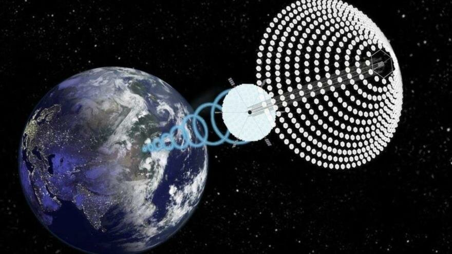 China quiere captar en el espacio la energía solar que no llega a la Tierra