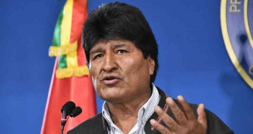 """Evo Morales: """"Gobierno de facto lleva al país a la quiebra"""""""