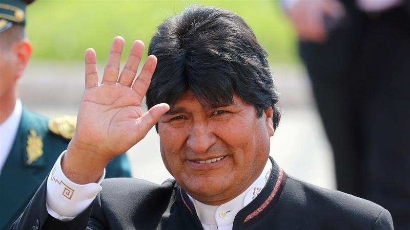 Evo Morales agradece a periodistas por difundir la verdad de Bolivia