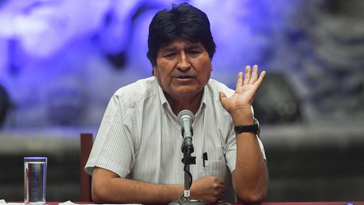 """Evo Morales: """"Gobierno de facto prepara retorno al FMI"""""""