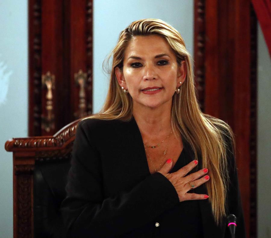 Presidente del Senado de Bolivia presenta denuncia formal contra Jeanine Áñez por sedición y otros delitos