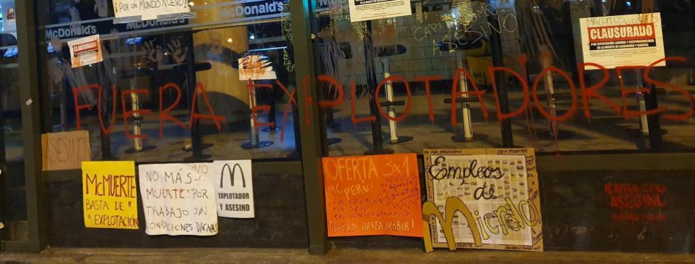 McMuerte: Novios que trabajaban en local de comida rápida mueren electrocutados por máquina de helados