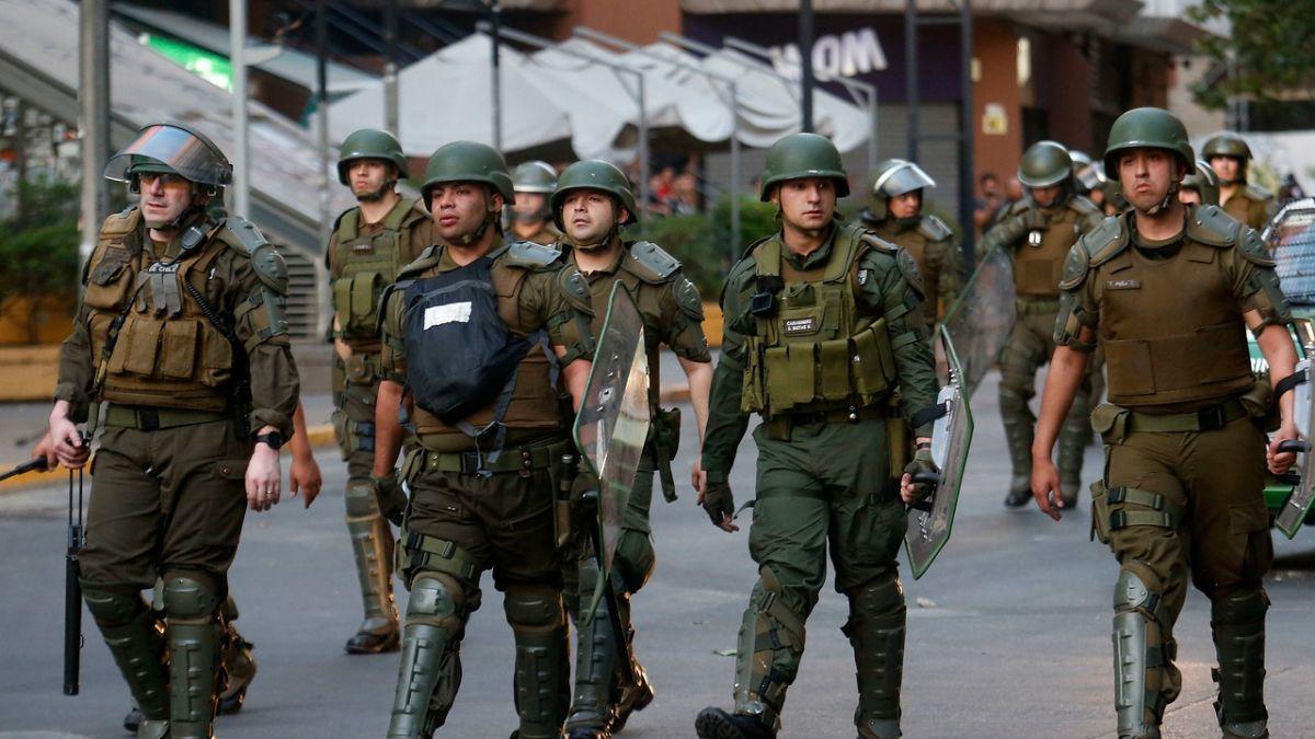 Formalización en contra  de 12 carabineros por el delito de tortura