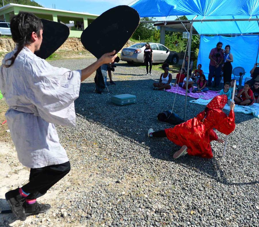 En Puerto Rico fomentan el arte y la lectura como método terapéutico ante los temblores