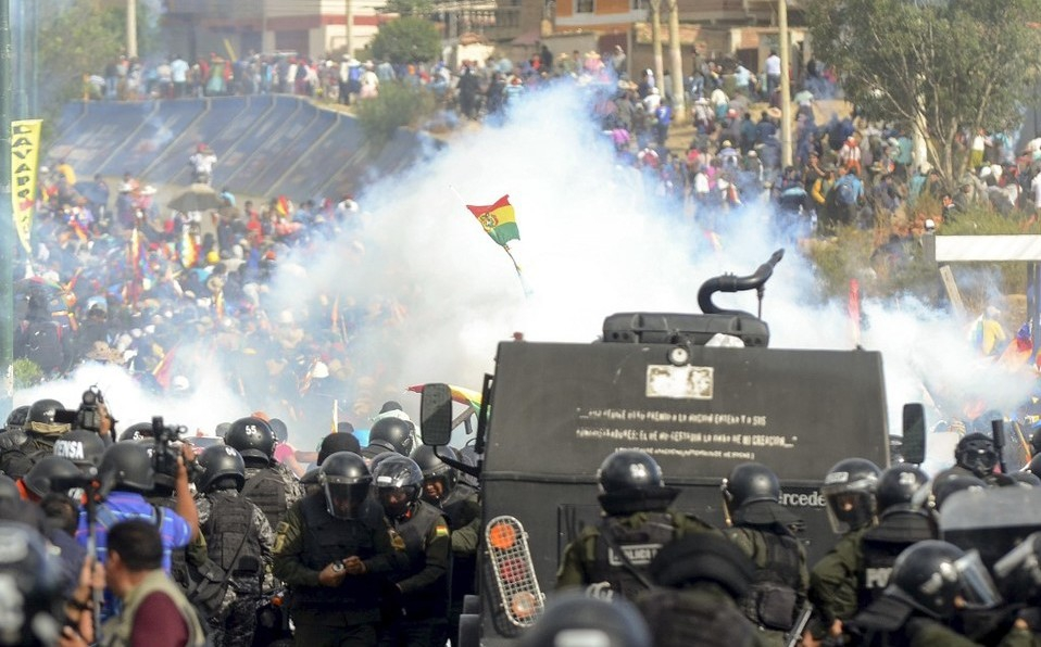 Violence et mort en Bolivie: tels sont les visages des tueurs du coup d'État