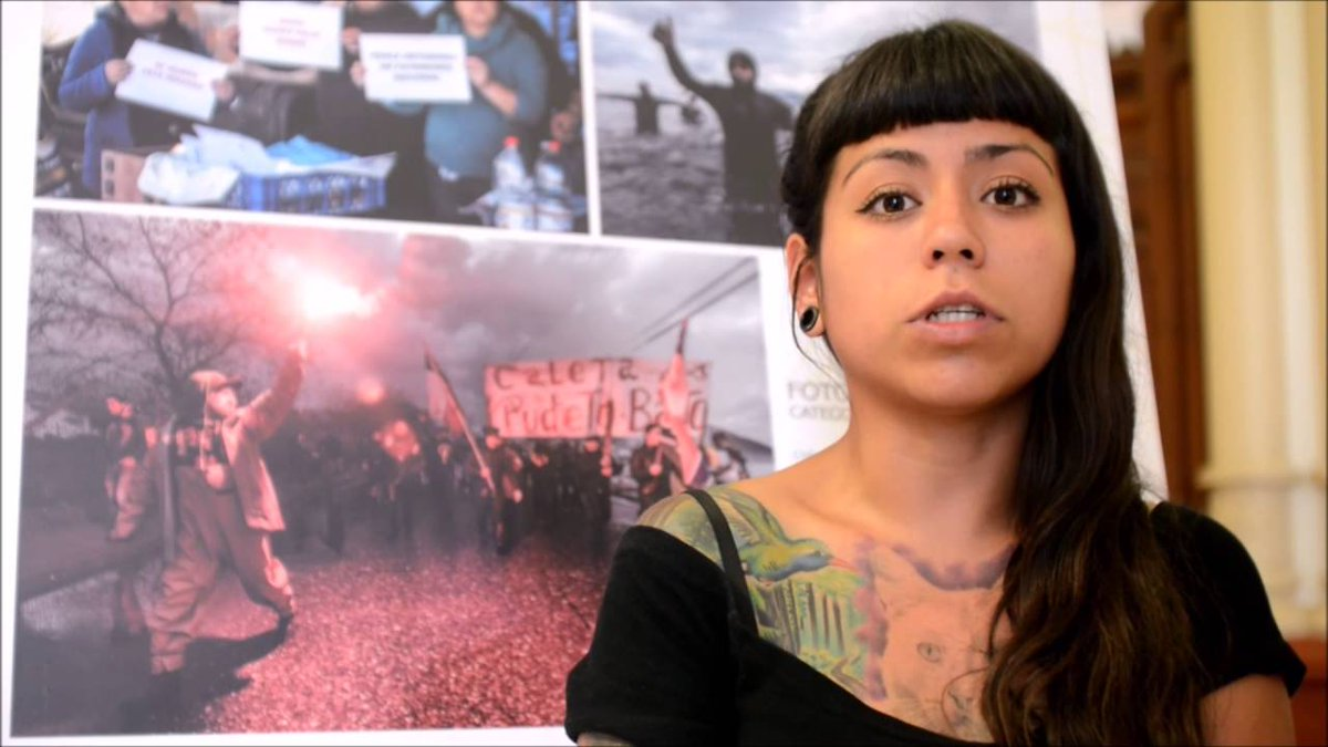 """""""¿Hasta cuándo estos crímenes de lesa humanidad?"""". Carabineros hiere en un ojo a fotógrafa Nicole Kramm"""