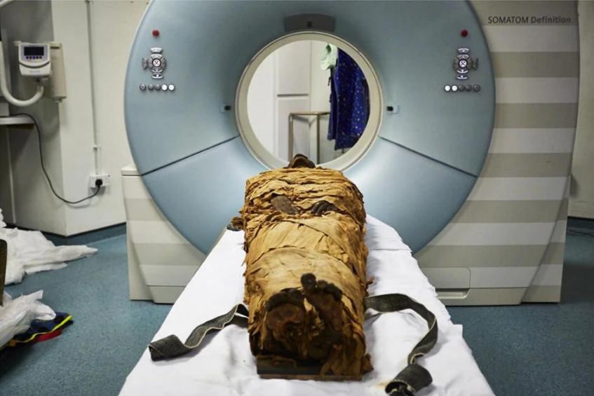 (Audio) Científicos recrean la voz de una momia de hace unos tres mil años