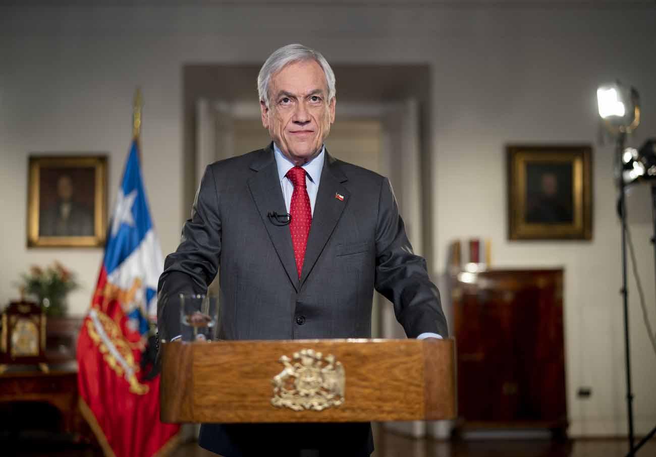 Piñera expresa públicamente su «aprecio y gratitud» a Carabineros a horas de un nuevo asesinato