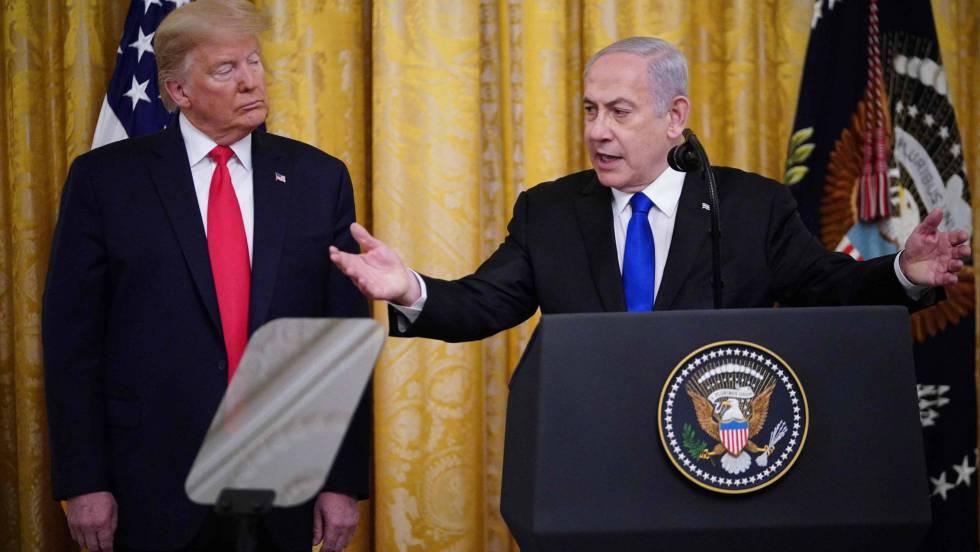 Trump presenta su «acuerdo del siglo» con el que oficializa su objetivo de acabar con el Estado palestino