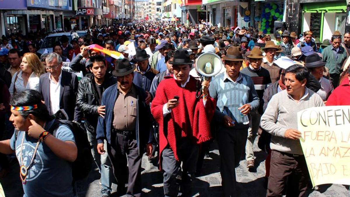 CONAIE dispuesta a demandar al Estado de Ecuador por delitos de lesa humanidad