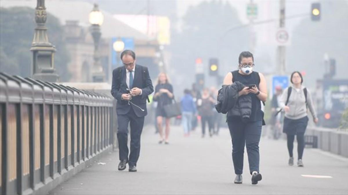 (Video) Melbourne se convierte en una de las ciudades más contaminadas del mundo
