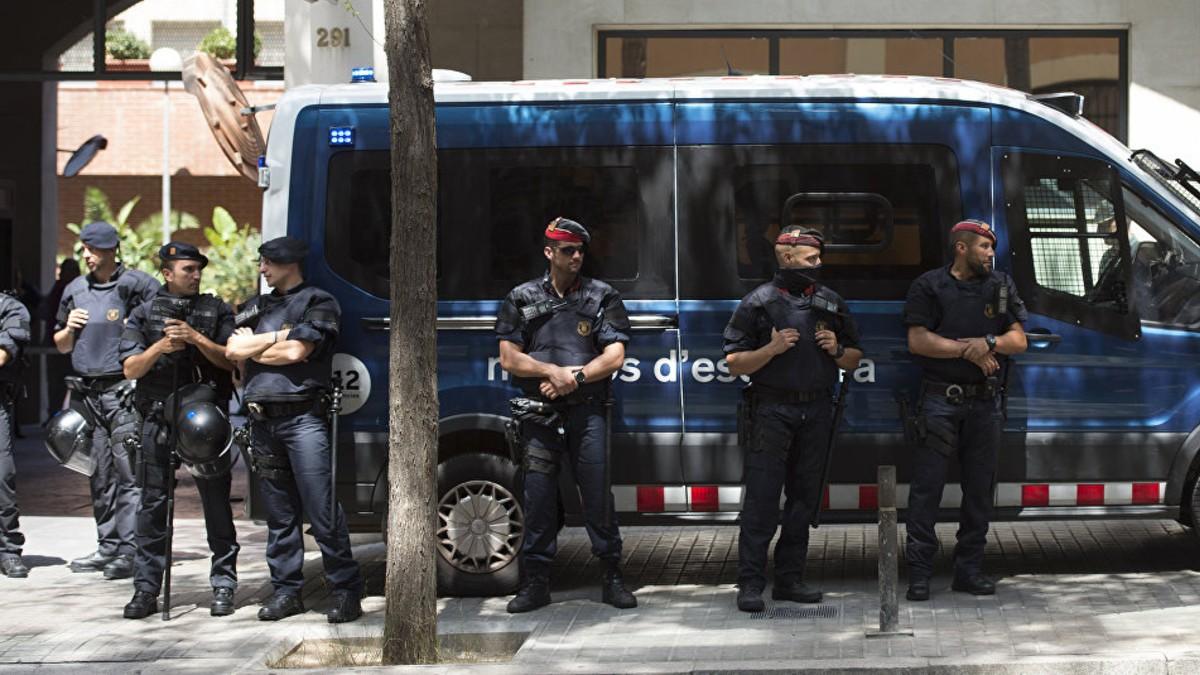 Empieza el juicio contra Policía catalana acusada de sedición