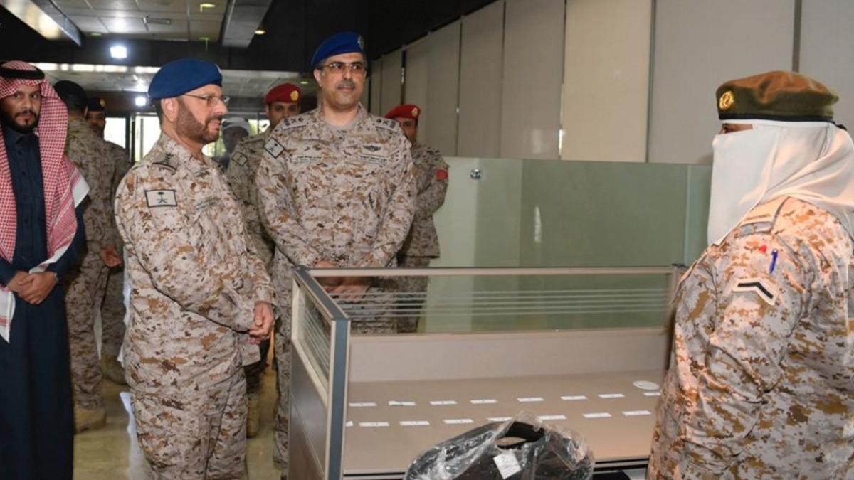 Ejército de Arabia Saudita inaugura el primer ala militar para mujeres