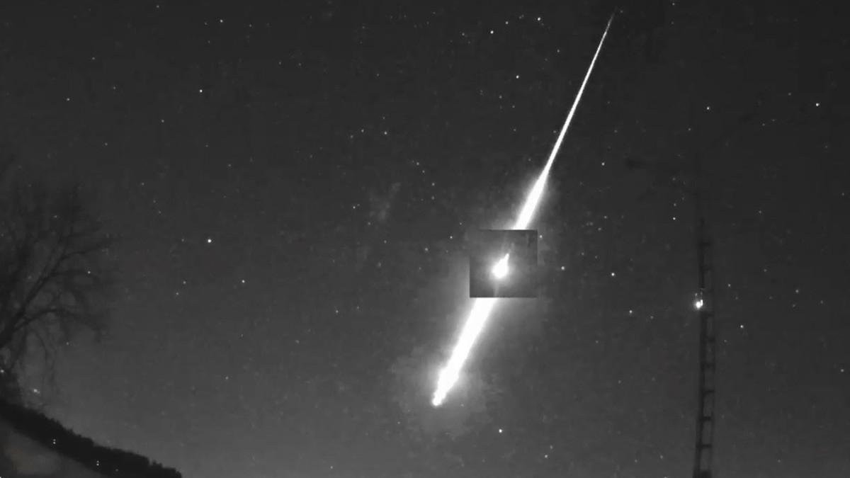 (Video) ¡Asteroide explota justo antes de impactar con la Tierra!