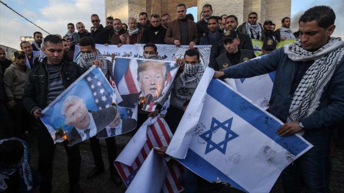 """HAMAS convoca a  palestinos a hacer frente al """"acuerdo del siglo"""""""