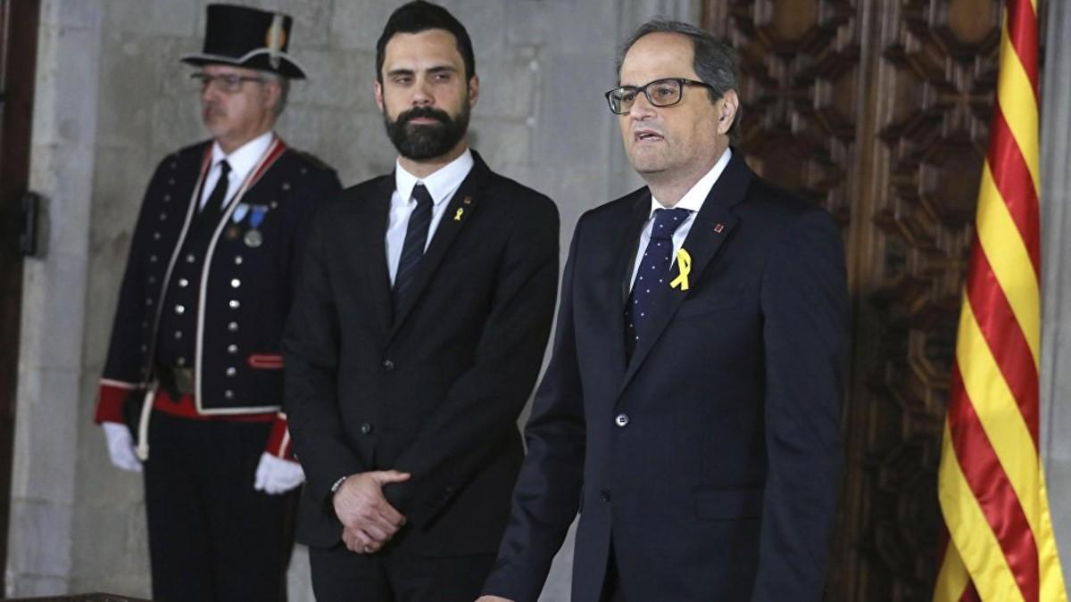 El presidente del Parlamento catalán asegura que independentismo no recurrirá a la desobediencia