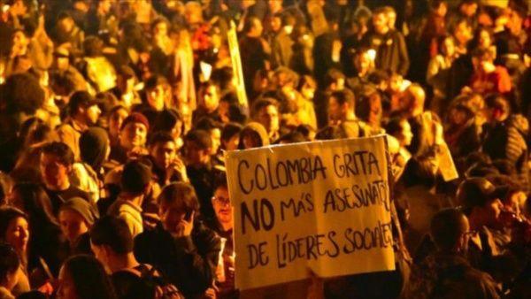 Colombia comenzó 2020 vestida de luto: 23 líderes sociales asesinados en 23 días