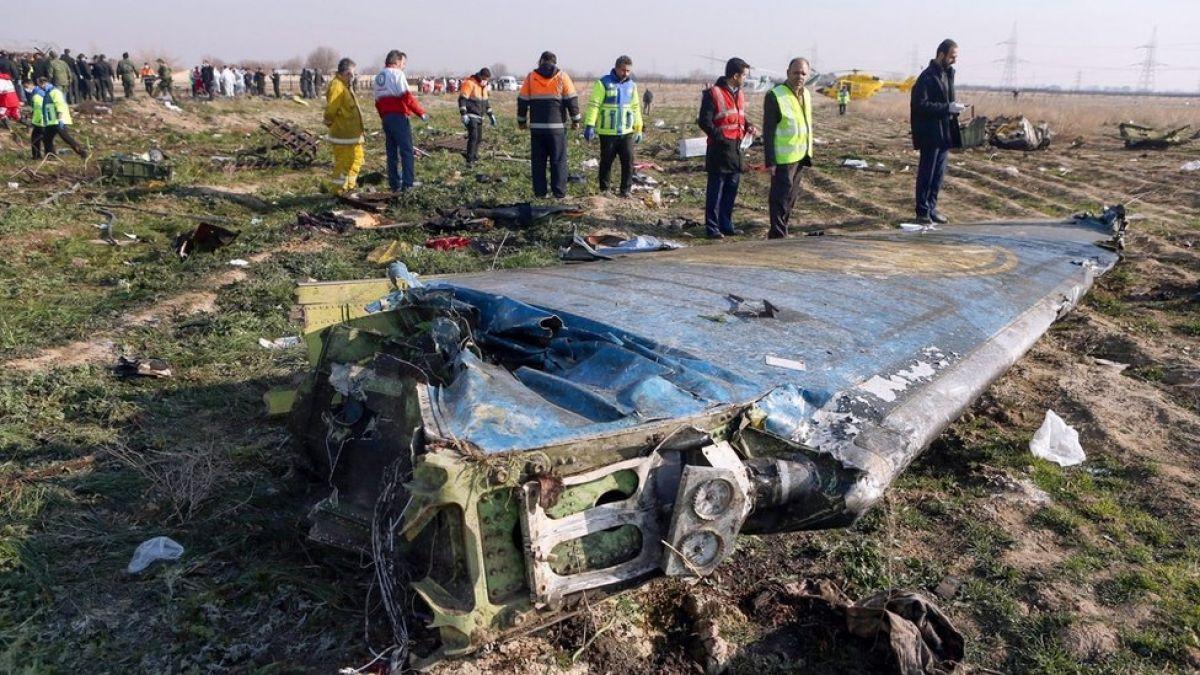 Ucrania exhorta a Irán a responder por compromisos internacionales en relación al vuelo PS752