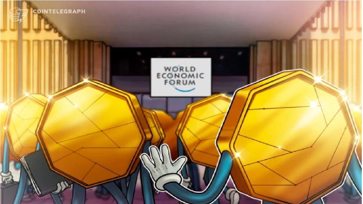 Foro Económico Mundial presenta iniciativa para regular criptomonedas