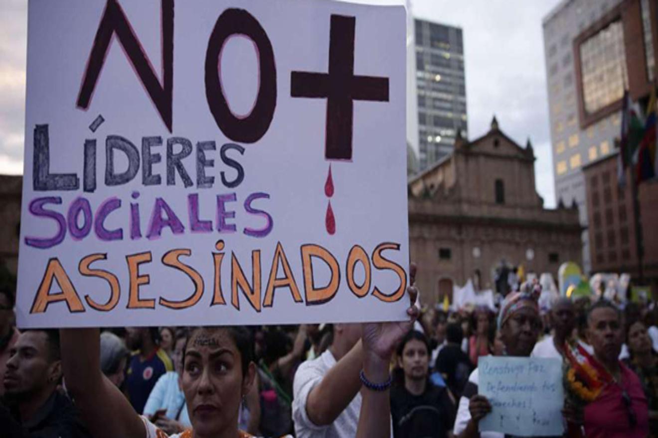 Colombia: Fiscalía desestima denuncias y registra solo una muerte de líder social en lo que va de año