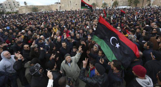 Libia acuerda condiciones para el alto al fuego