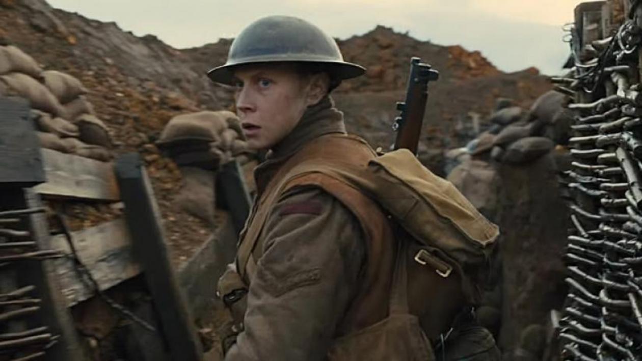 """Protagonista de """"1917"""" comenta impactante momento del filme que no estaba en el guion"""
