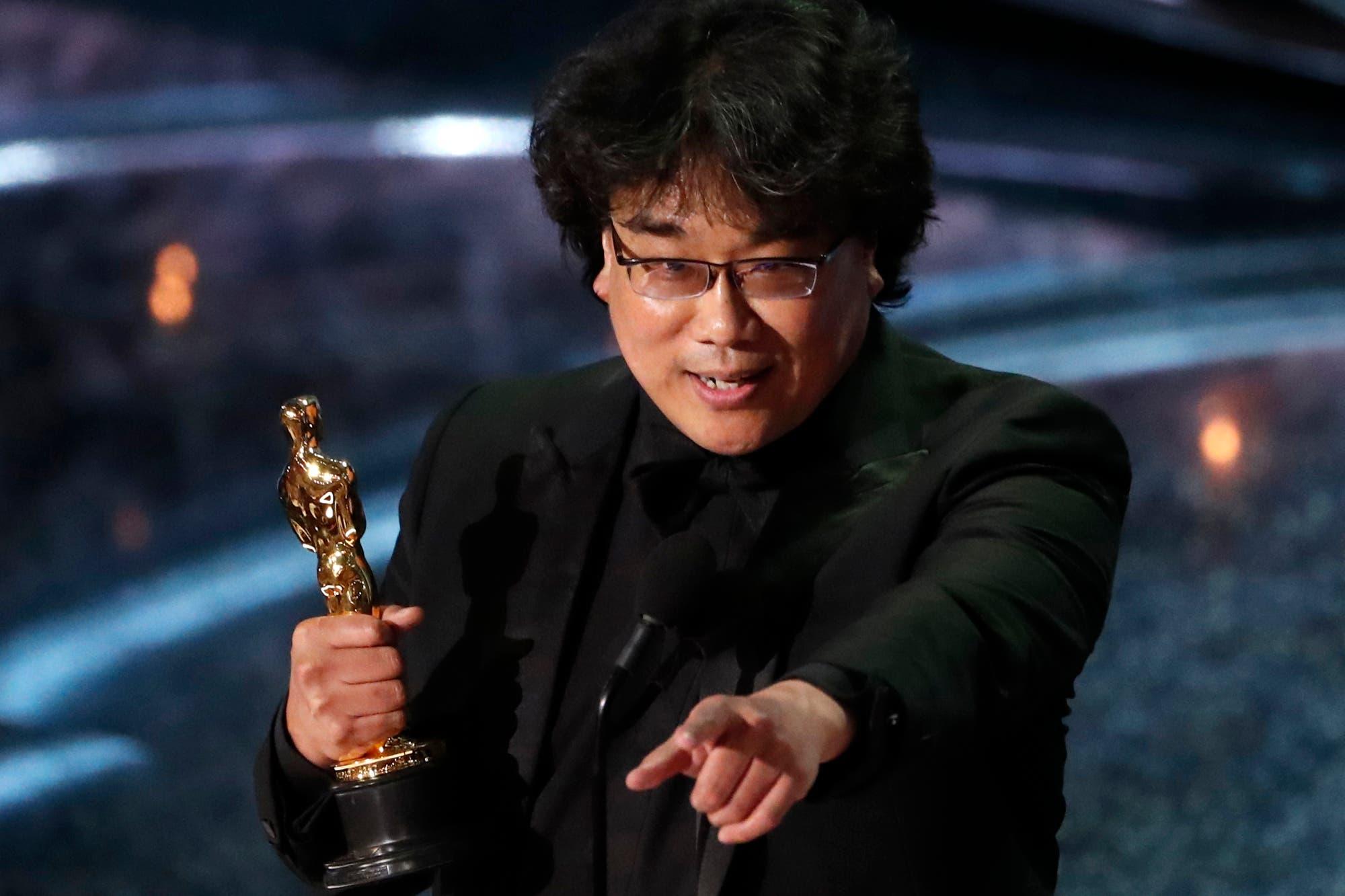 """(+Lista de ganadores) """"Parasite"""" de Bong Joon-ho hace historia en Hollywood y arrasa en los Óscar"""