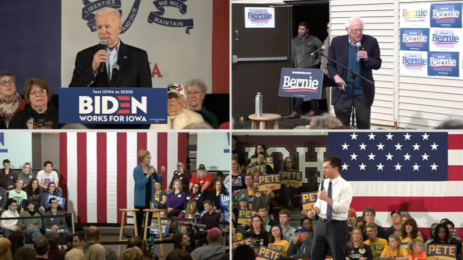 EE. UU.: Retraso de resultados marca inicio de primarias demócratas en las que Buttigieg y Sanders puntean la lista