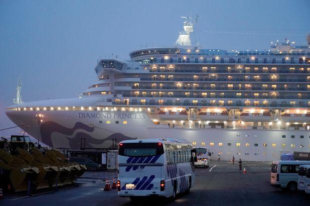 Más de la mitad de contagios por Covid-19 fuera de China pertenecen al crucero Diamond Princess