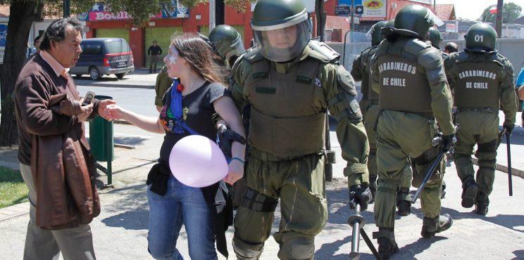 Más de nueve mil personas han sido detenidas desde el «estallido social» en Chile