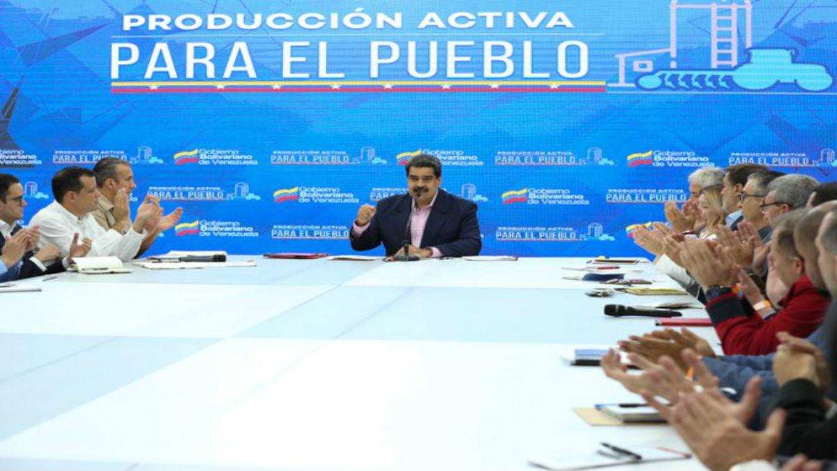 Maduro denuncia que en Venezuela las pérdidas alcanzan 99% de los ingresos por el bloqueo