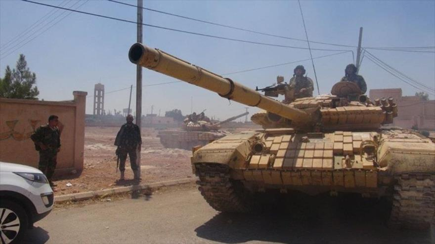 Mientras enfrenta ofensiva turca, Ejército sirio libera aldeas del sur de Idlib