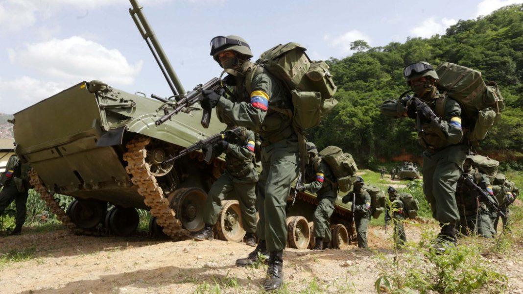 Fuerza Armada venezolana incrementa operaciones para expulsar a grupos irregulares
