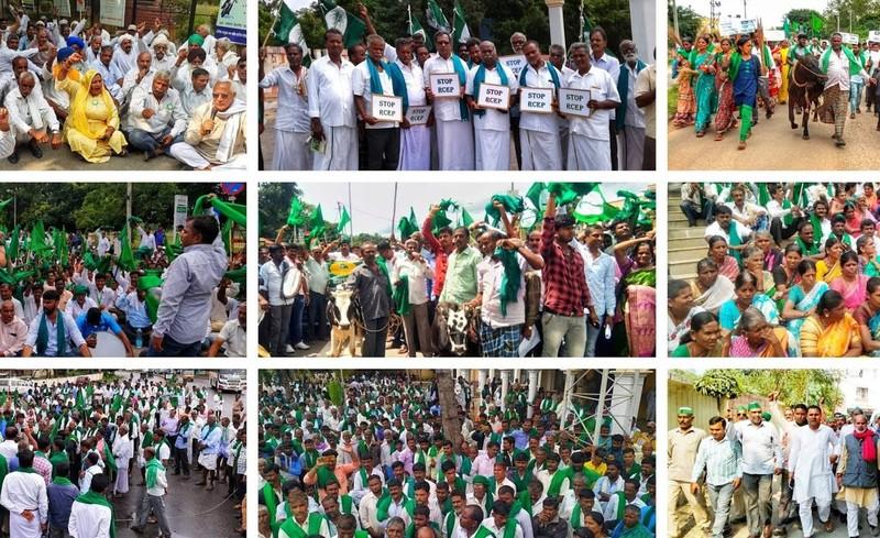 Movimientos sociales de la India muestran el camino de resistencia a los tratados de libre comercio