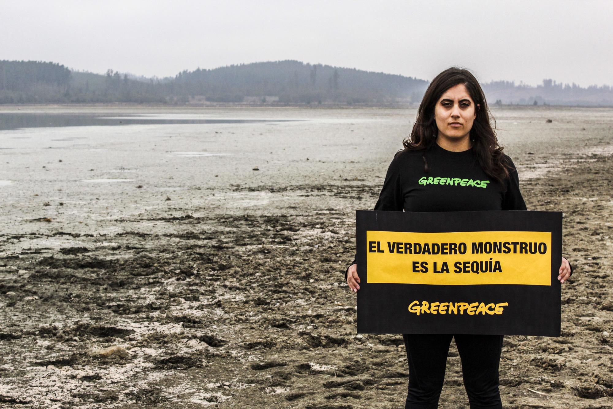 Greenpeace alerta sobre la sequía que afecta al lago Peñuelas y al embalse Los Aromos